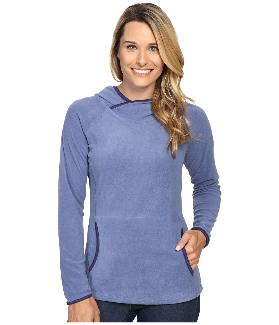 Columbia - Glacial Fleece IV Hoodie (Bluebell) Women's Sweatshirt