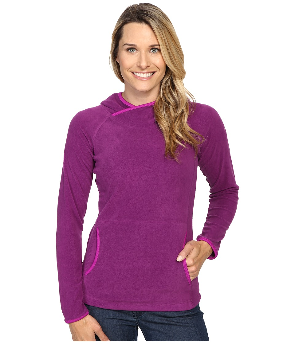 Columbia Glacial Fleece IV Hoodie (Plum) Women
