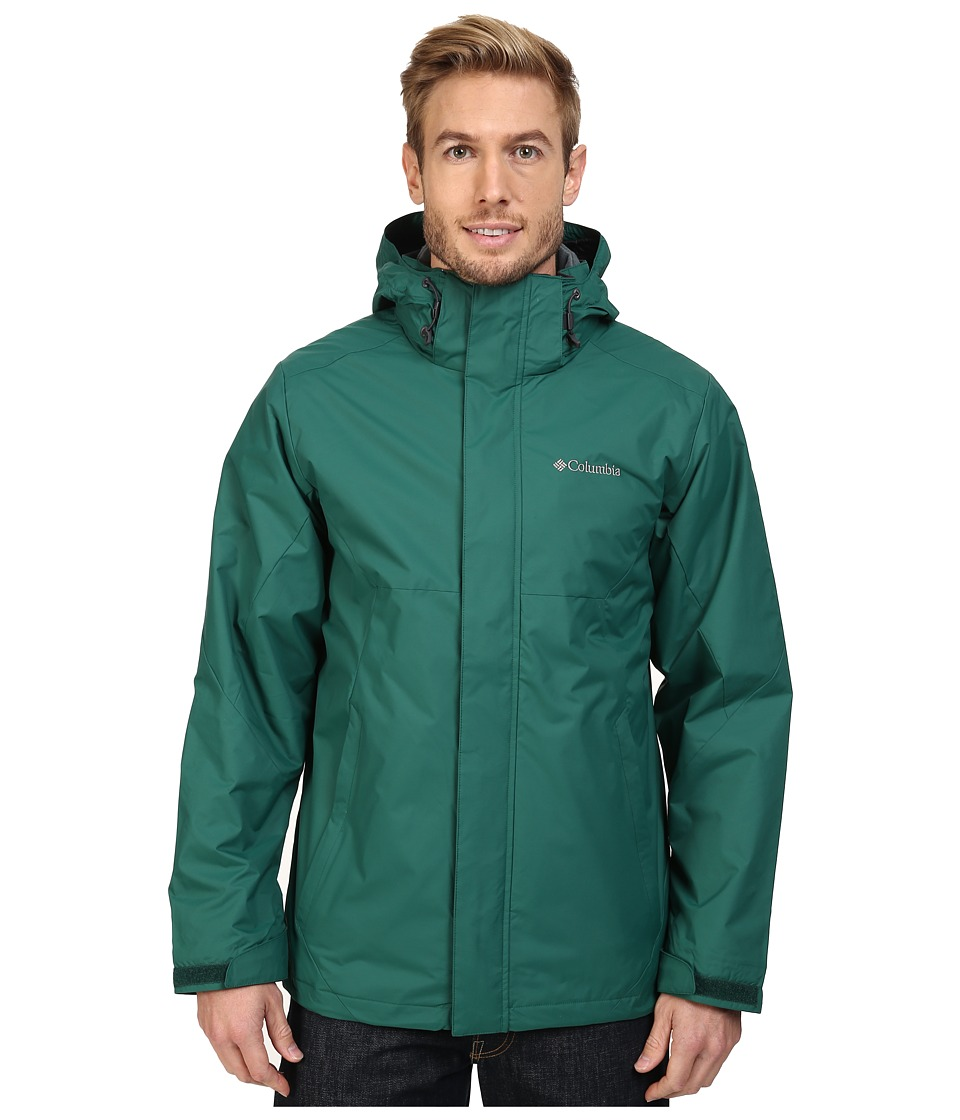 Columbia - Eager Air Interchange Jacket (Wildwood Green) Men's Coat
