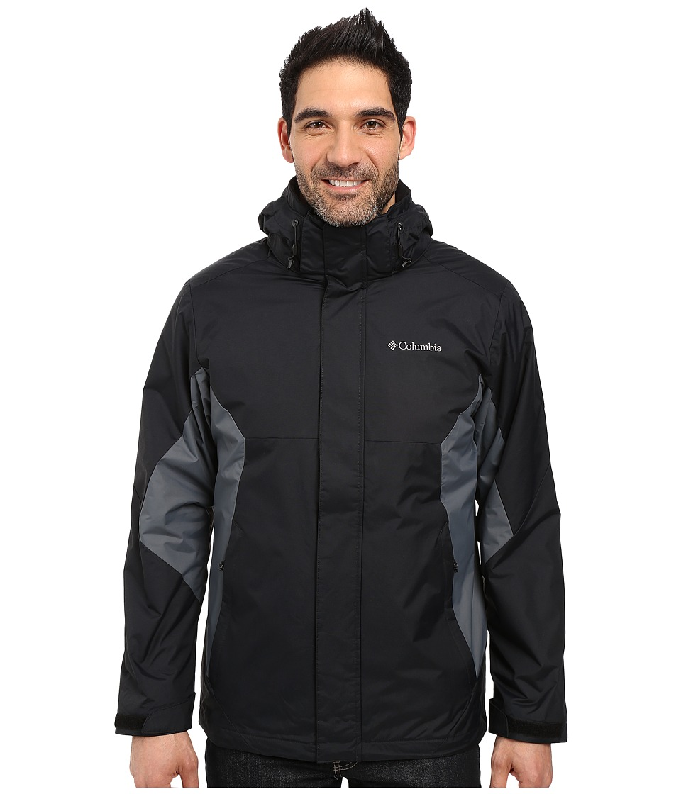 Columbia - Eager Air Interchange Jacket (Black/Graphite) Men's Coat