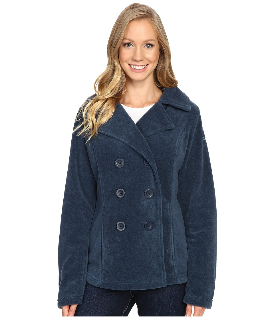 Columbia - Benton Springs Peacoat (Columbia Navy) Women's Coat