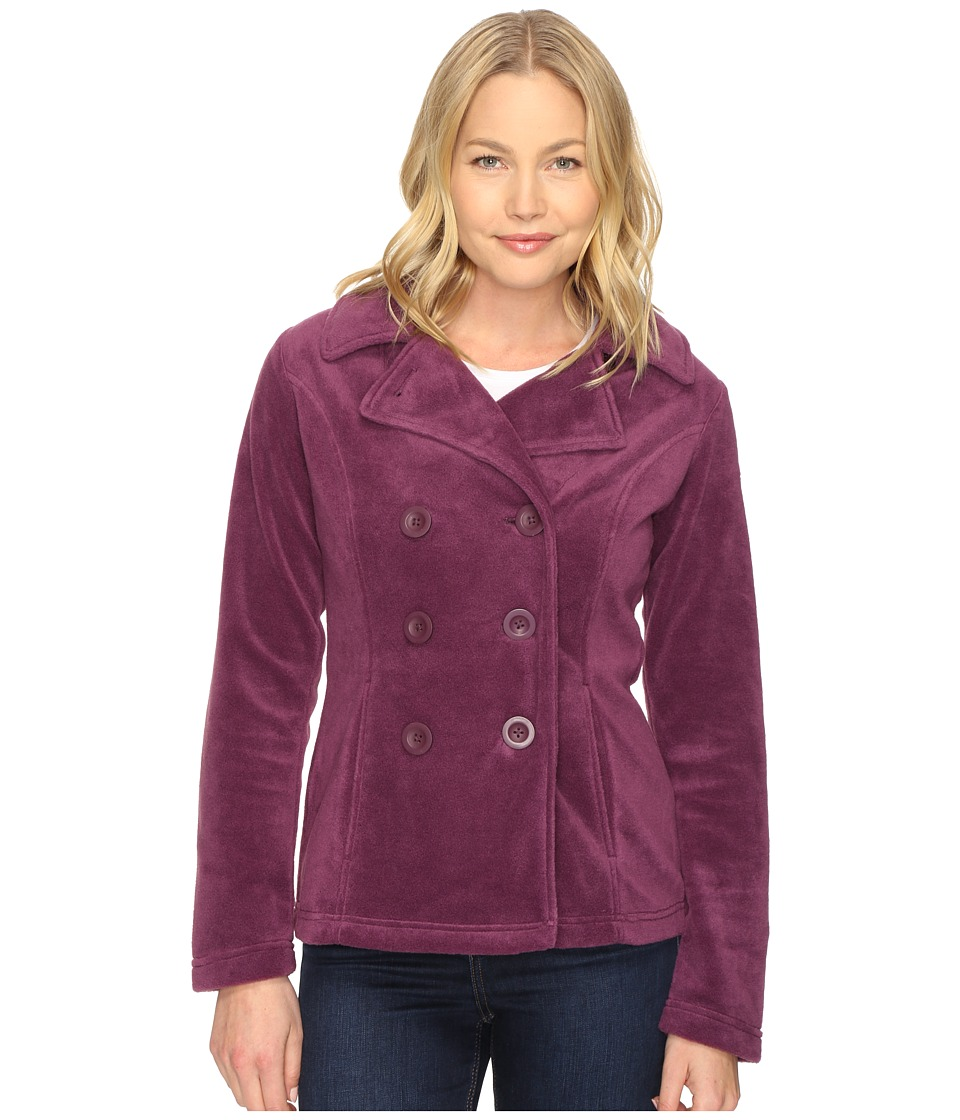 Columbia - Benton Springs Peacoat (Purple Dahlia) Women's Coat