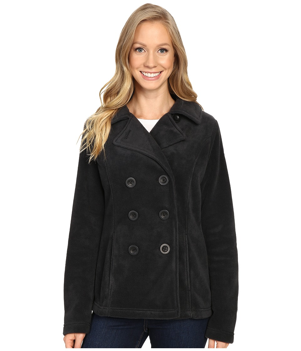 Columbia - Benton Springs Peacoat (Black) Women's Coat
