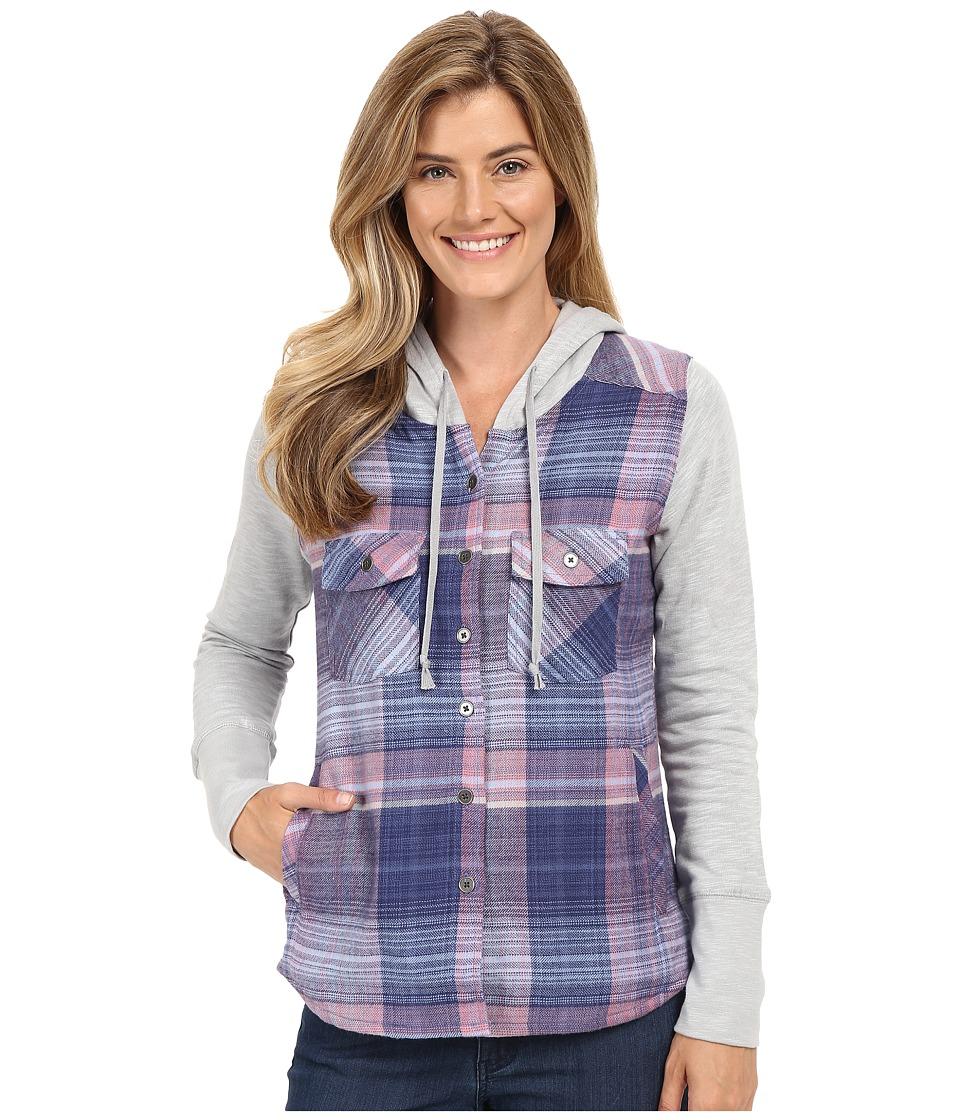 Columbia - Canyon Point Shirt Jacket (Bluebell Plaid) Women
