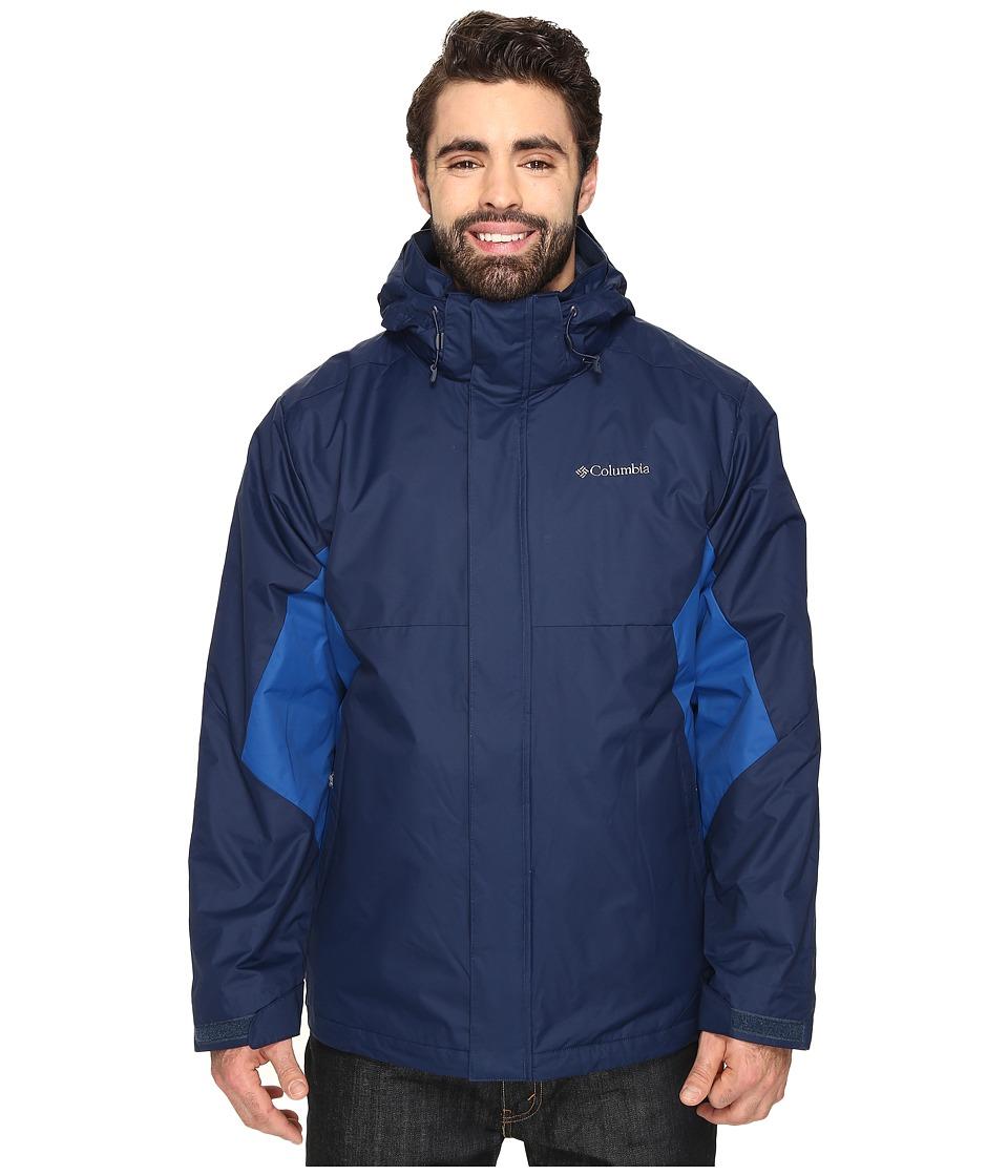 Columbia - Big Tall Eager Air Interchange Jacket (Collegiate Navy/Marine Blue) Men's Coat