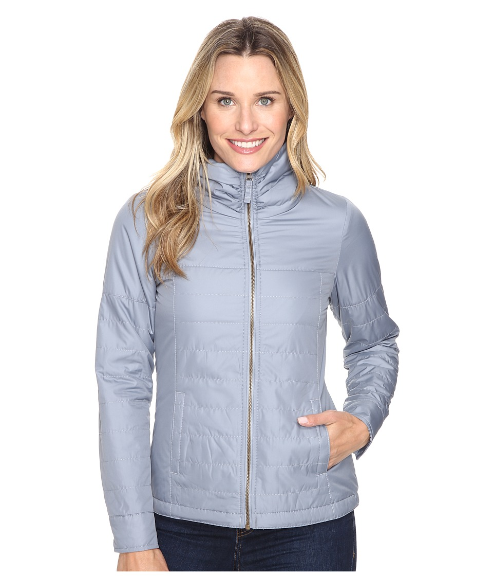 Columbia - Shining Light Full Zip (Tradewinds Grey) Women's Clothing