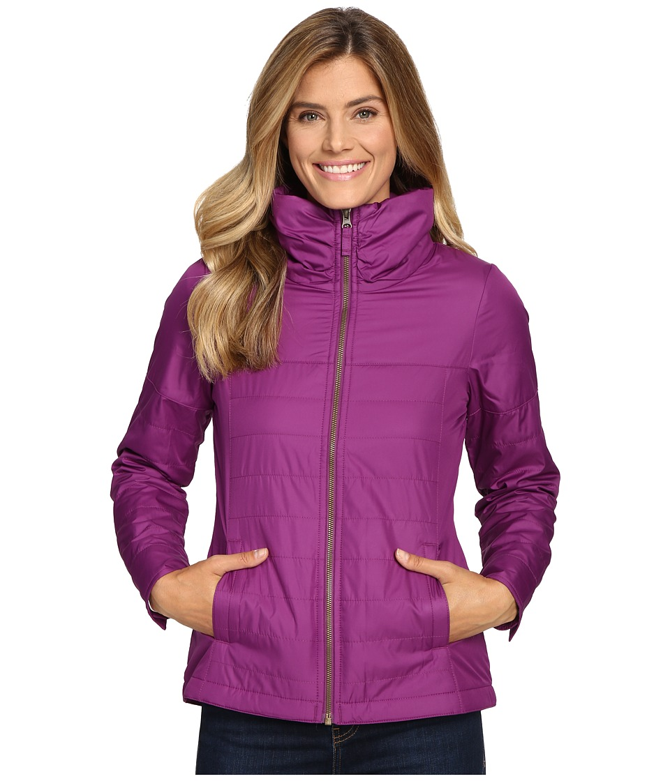 Columbia - Shining Light Full Zip (Plum) Women's Clothing