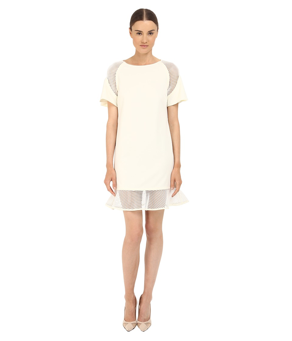 ZAC Zac Posen Toddy Dress (Off-White) Women