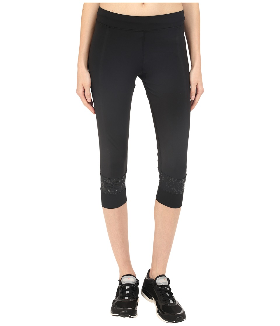 adidas by Stella McCartney - Run 10km 3/4 Tights AP8701 (Black) Women's Casual Pants