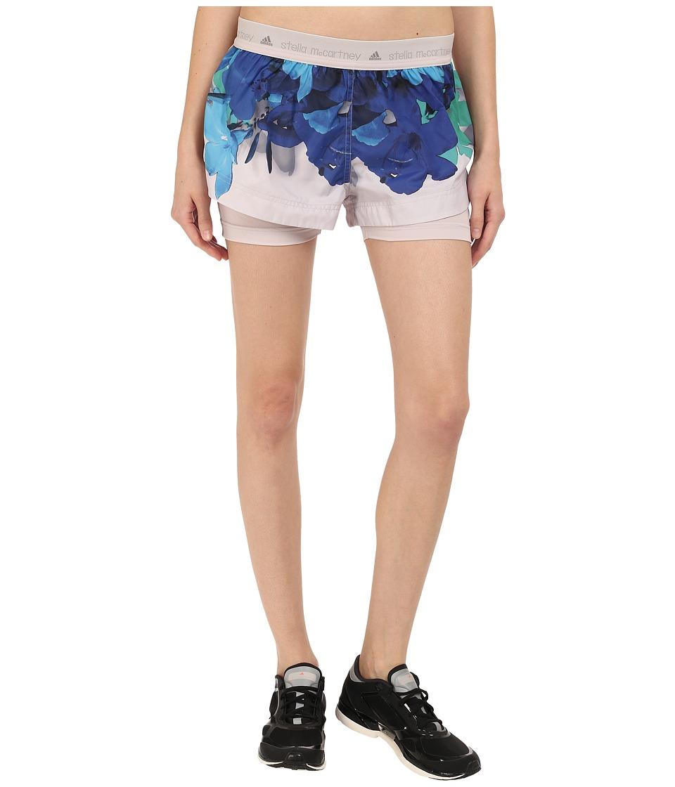 adidas by Stella McCartney - Run Blossom Shorts AI8470 (Seed Pearl/Smoked/Dark Blue) Women's Shorts