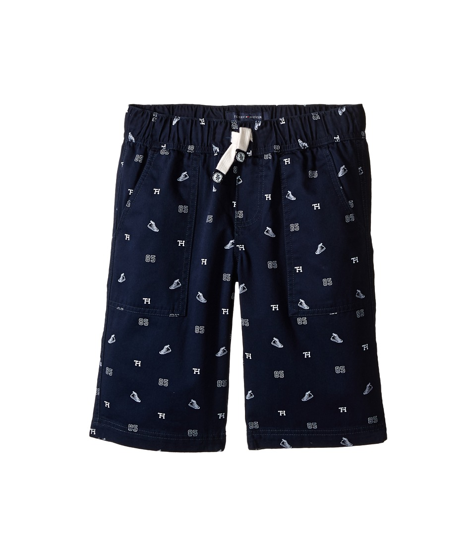 Tommy Hilfiger Kids - High Top Schiffli Jogger Shorts (Big Kids) (Swim Navy) Boy's Shorts