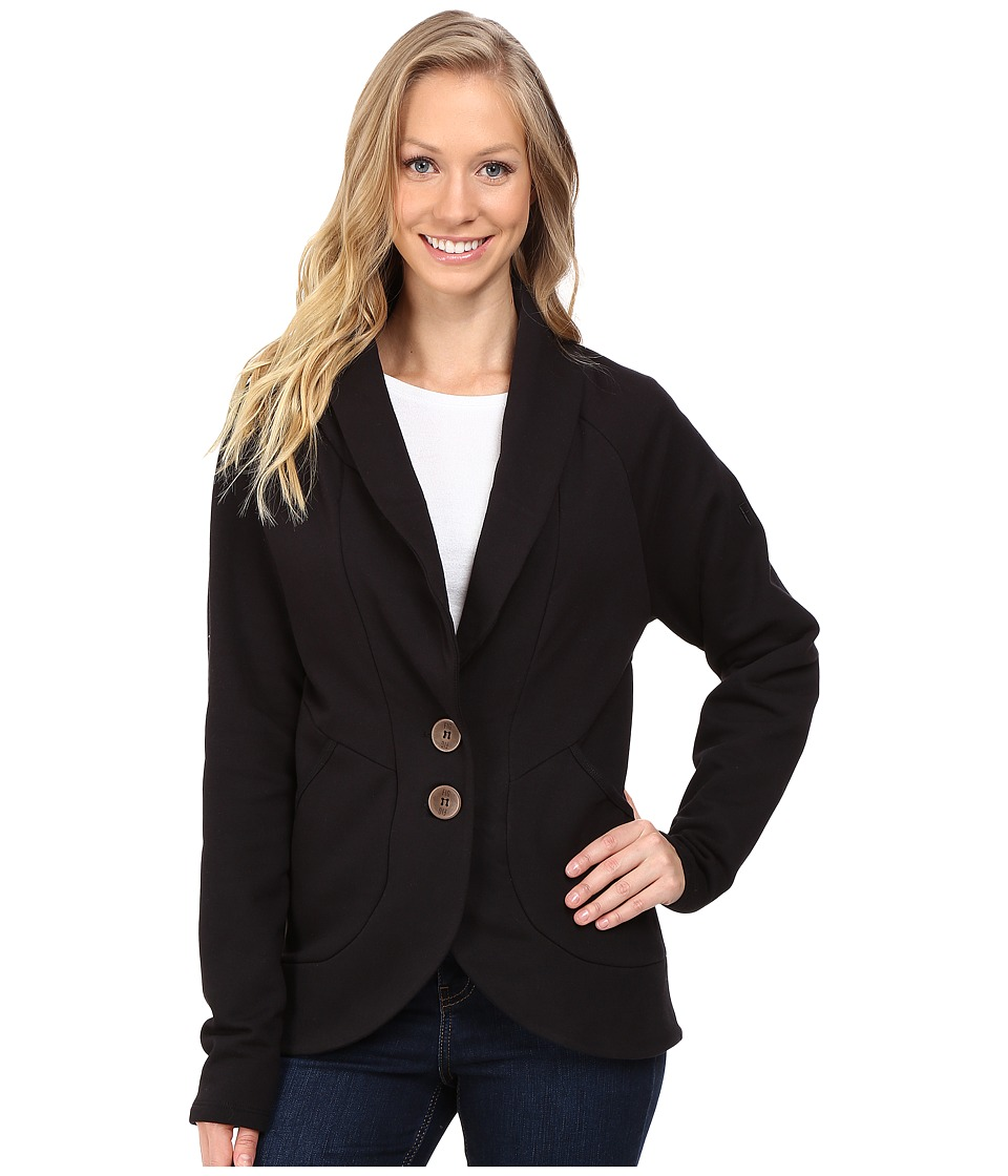 FIG Clothing - Lua Cardigan (Black) Women's Sweater