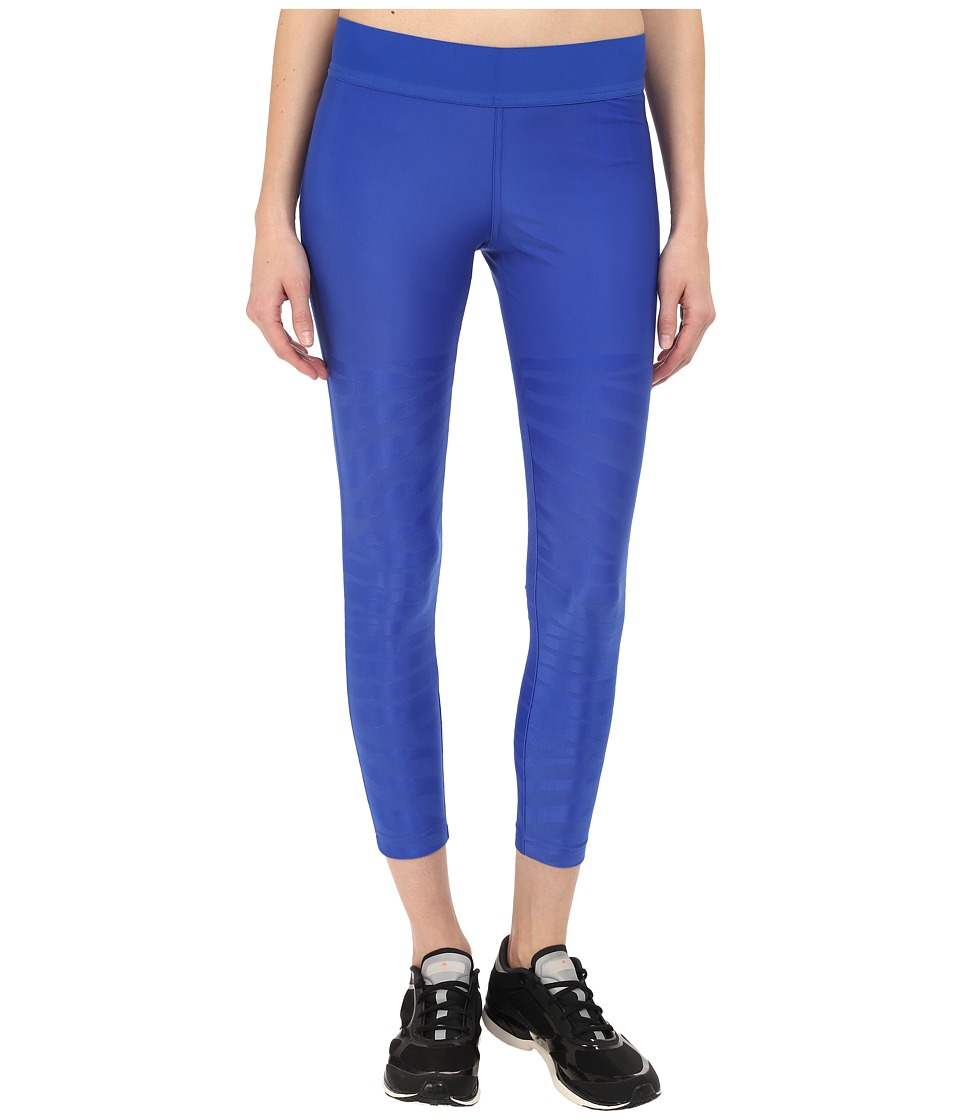 adidas by Stella McCartney - Studio Zebra Tights AI8774 (Bold Blue) Women's Casual Pants