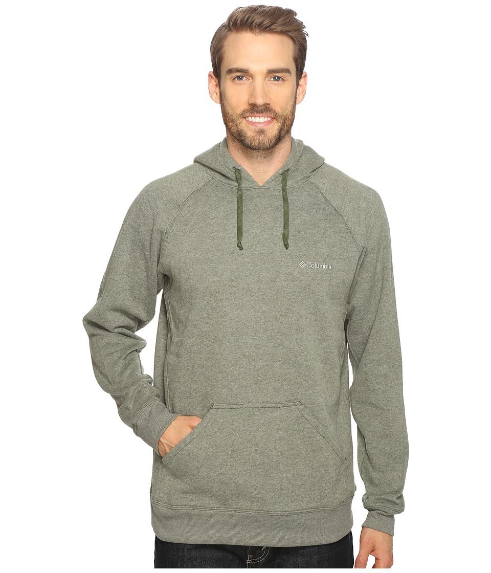 Columbia - Hart Mountain II Hoodie (Surplus Green Heather) Men's Sweatshirt