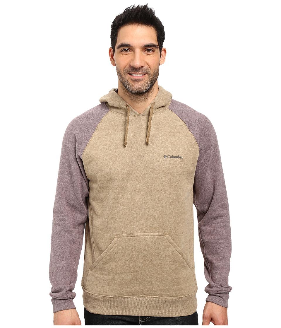 Columbia - Hart Mountain II Hoodie (Delta Heather/New Cinder Heather) Men's Sweatshirt