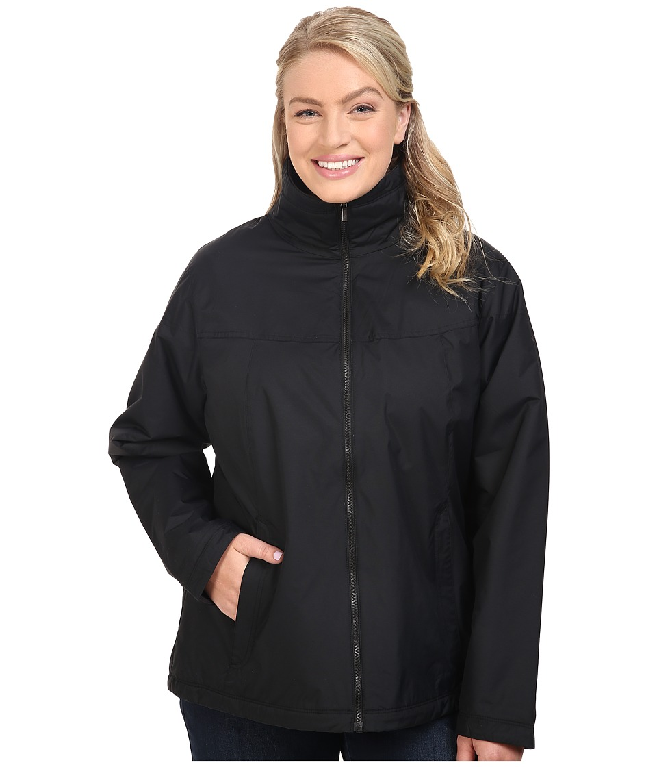 Columbia - Plus Size Many Paths Jacket (Black) Women's Coat