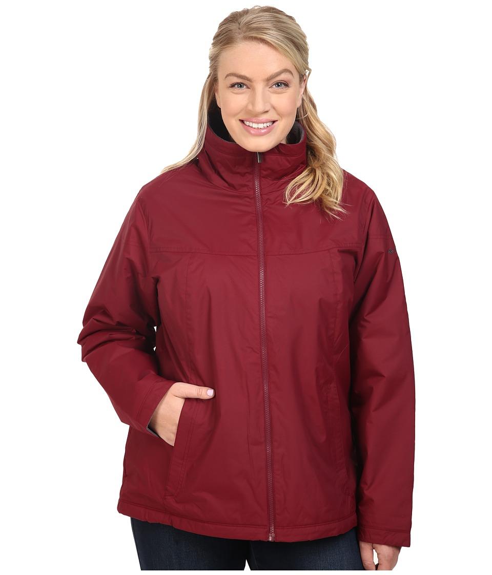 Columbia - Plus Size Many Paths Jacket (Chianti) Women's Coat
