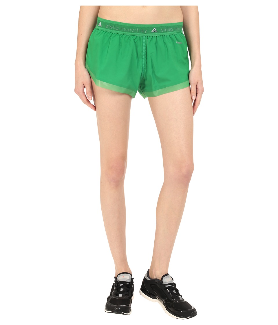 adidas by Stella McCartney - Run Adizero Shorts AI8454 (New Green/Smoked) Women's Shorts