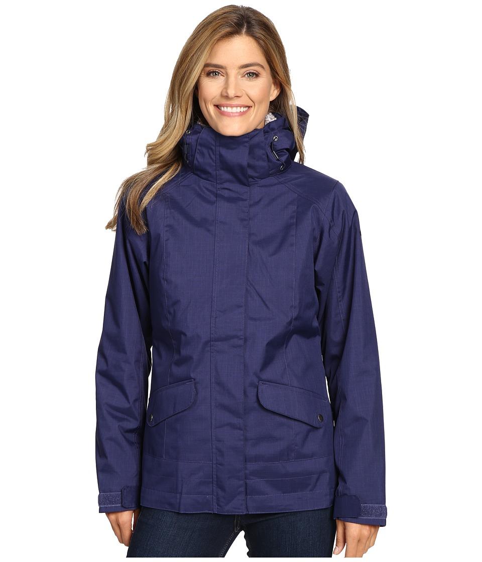 Columbia - Sleet to Street Interchange Jacket (Nightshade) Women's Coat