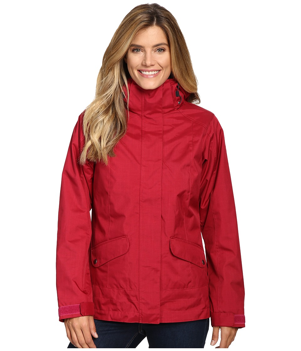 Columbia - Sleet to Street Interchange Jacket (Red Orchid) Women's Coat