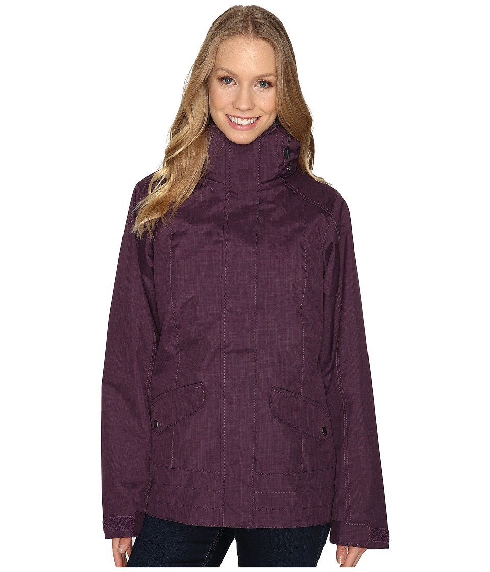Columbia - Sleet to Street Interchange Jacket (Dusty Purple) Women's Coat
