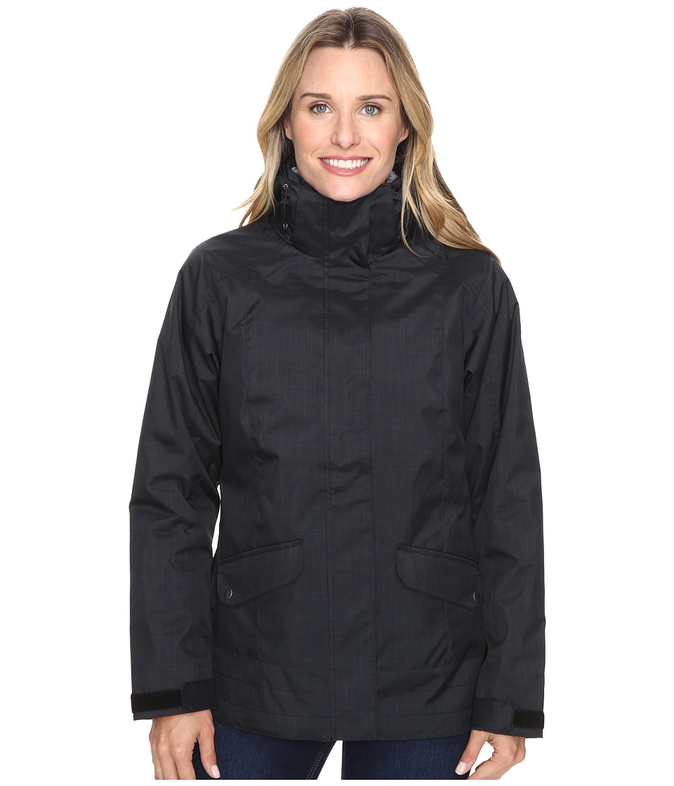 Columbia - Sleet to Street Interchange Jacket (Black) Women's Coat