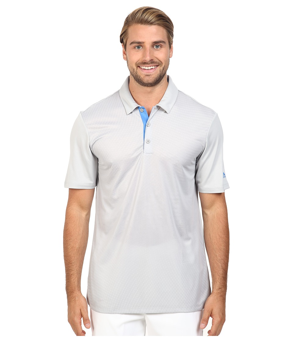 adidas Golf - CLIMACOOL Gradient Polo (Stone) Men's Clothing