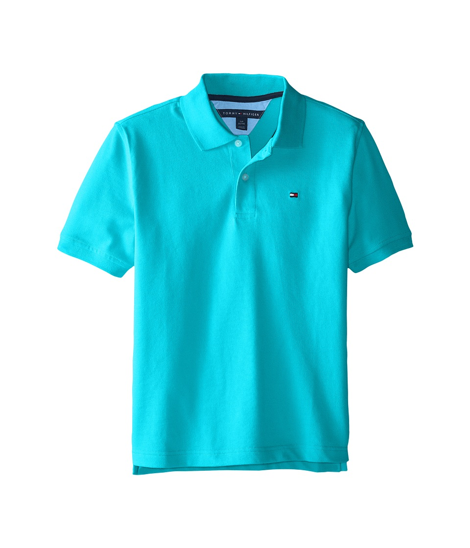 Tommy Hilfiger Kids - Ivy Polo (Big Kid) (Sprinkler) Boy's Clothing