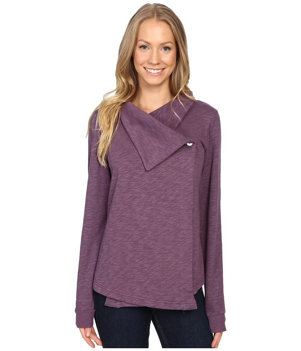 Columbia - Down Time Wrap (Dusty Purple Heather) Women's Clothing