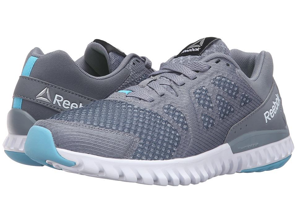 Reebok - Twistform Blaze 2.0 MTM (Asteroid Dust/Cloud Grey/Crisp Blue/Black) Women's Running Shoes