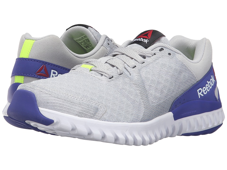 Reebok - Twistform Blaze 2.0 MTM (Skull Grey/Solar Yellow/White/Ultima Purple) Women's Running Shoes