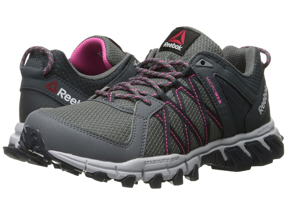 Reebok - Trailgrip RS 5.0 (Alloy/Nocturnal Grey/Cloud Grey/Poison Pink/Smokey Black) Women's Cross Training Shoes