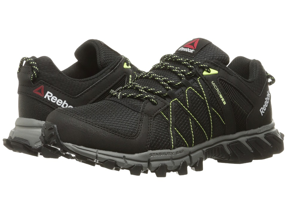 Reebok - Trailgrip RS 5.0 (Black/Alloy/Lemon Zest) Women's Cross Training Shoes