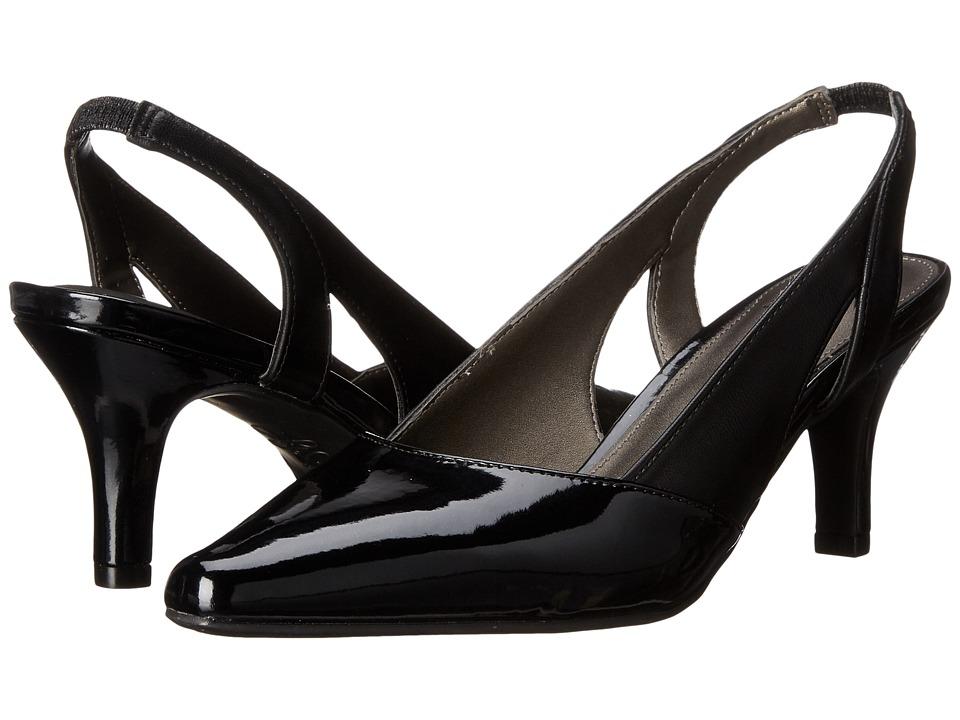 LifeStride - Key Way (Black) Women's Shoes
