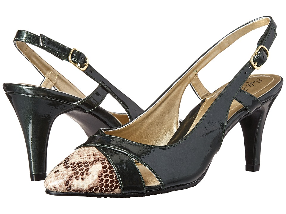 Soft Style - Rielle (Rosin Pearlized Patent/Python) High Heels