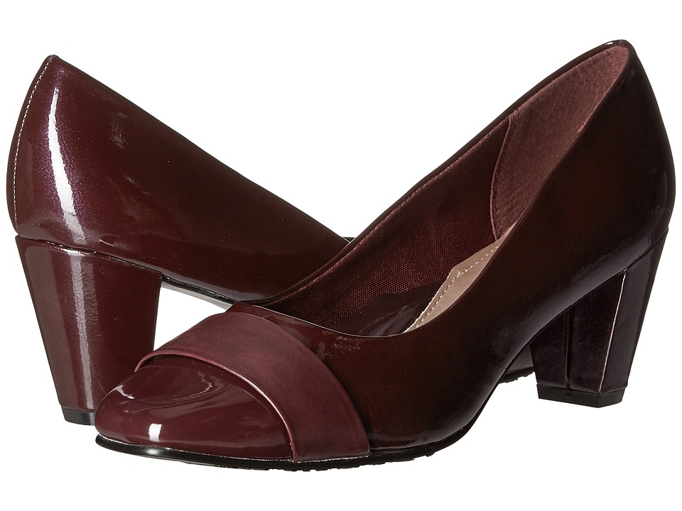 Soft Style - Mabry (Sassafras Pearlized Patent/Sassafras Vitello) Women's 1-2 inch heel Shoes