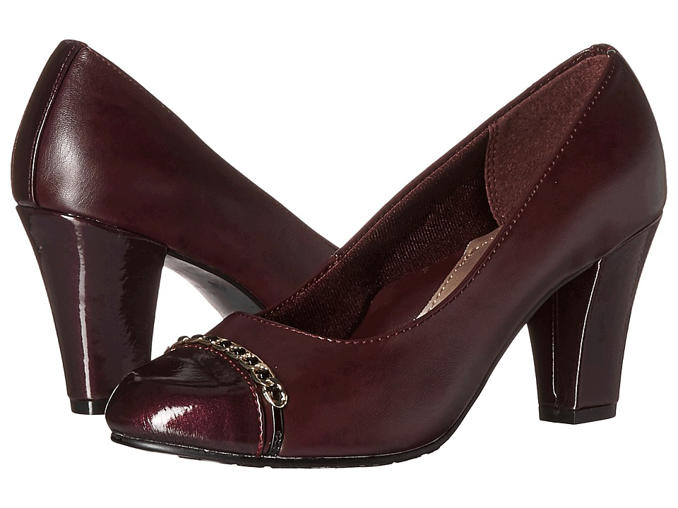 Soft Style - Calina (Sassafras Vitello/Pearlized Patent) Women's 1-2 inch heel Shoes