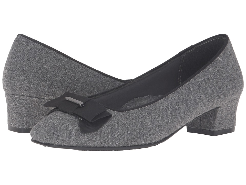 Soft Style - Sharyl (Grey Flannel) Women's 1-2 inch heel Shoes