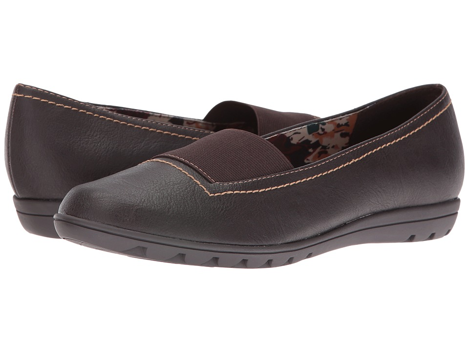 Soft Style - Varya (Dark Brown Leather) Women's Shoes