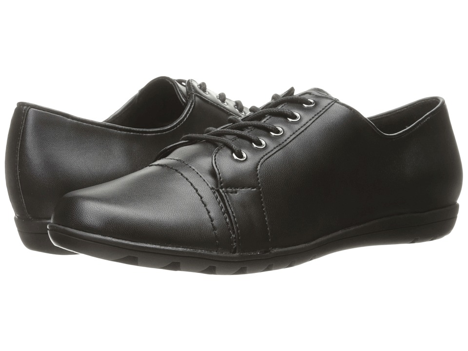 Soft Style - Valda (Black Leather) Women's Shoes