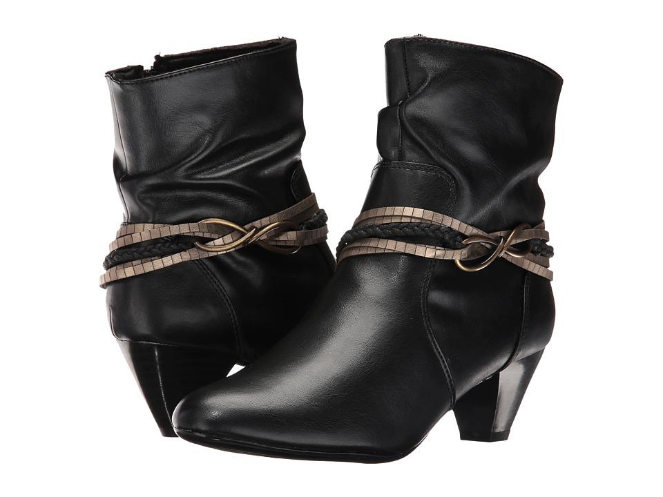 Soft Style Gayla (Black Vitello) Women