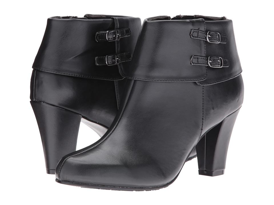 Soft Style - Creel (Black Vitello) Women's Pull-on Boots