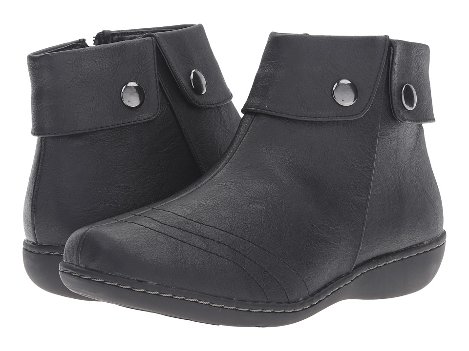 Soft Style Jerlynn (Black Leather) Women