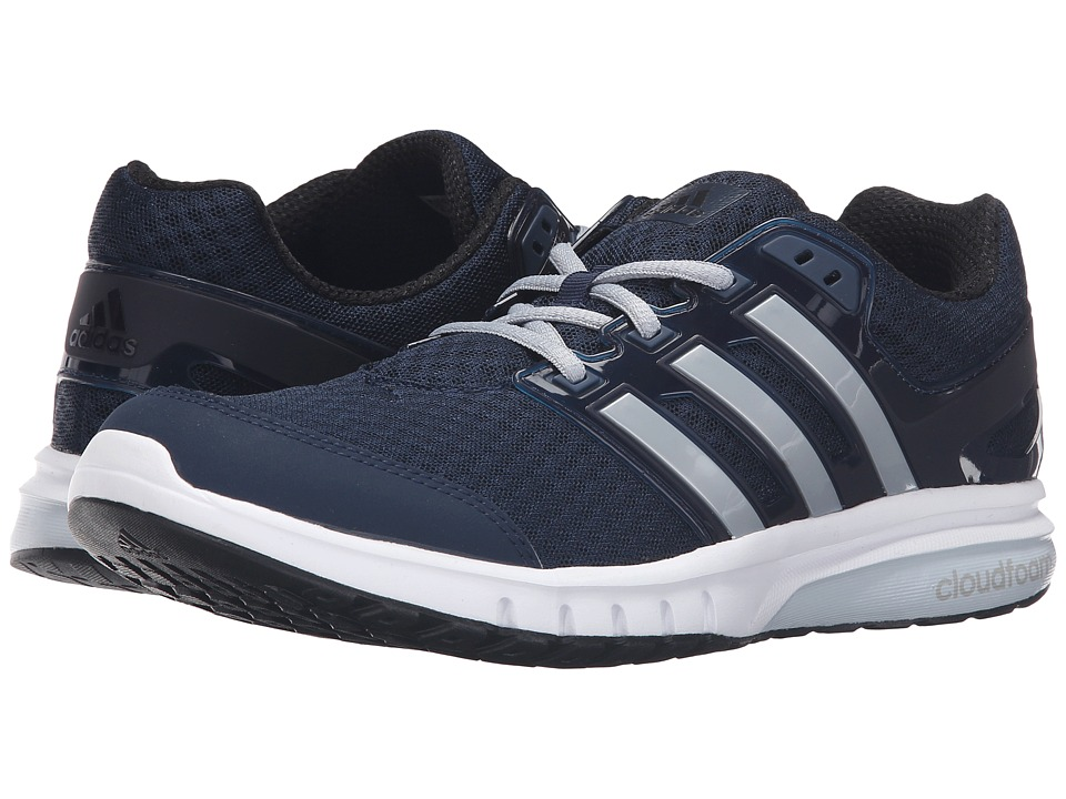 adidas - Galaxy 2 Elite (Collegiate Navy/Silver Metallic/Light Grey) Men's Running Shoes