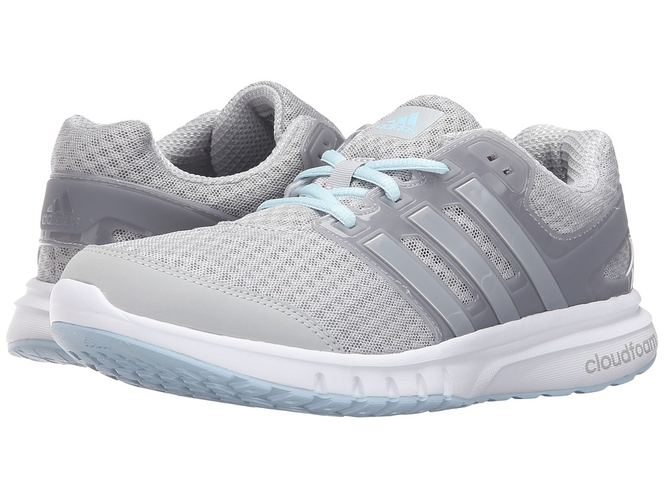 adidas - Galaxy 2 Elite (Clear Grey/Silver Metallic/Ice Blue) Women's Running Shoes