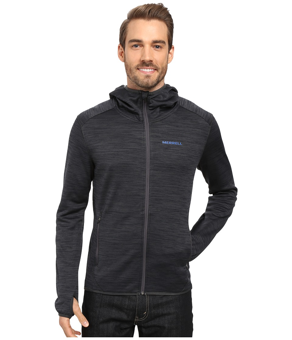 Merrell Fraxion Hoodie (Asphalt Heather) Men