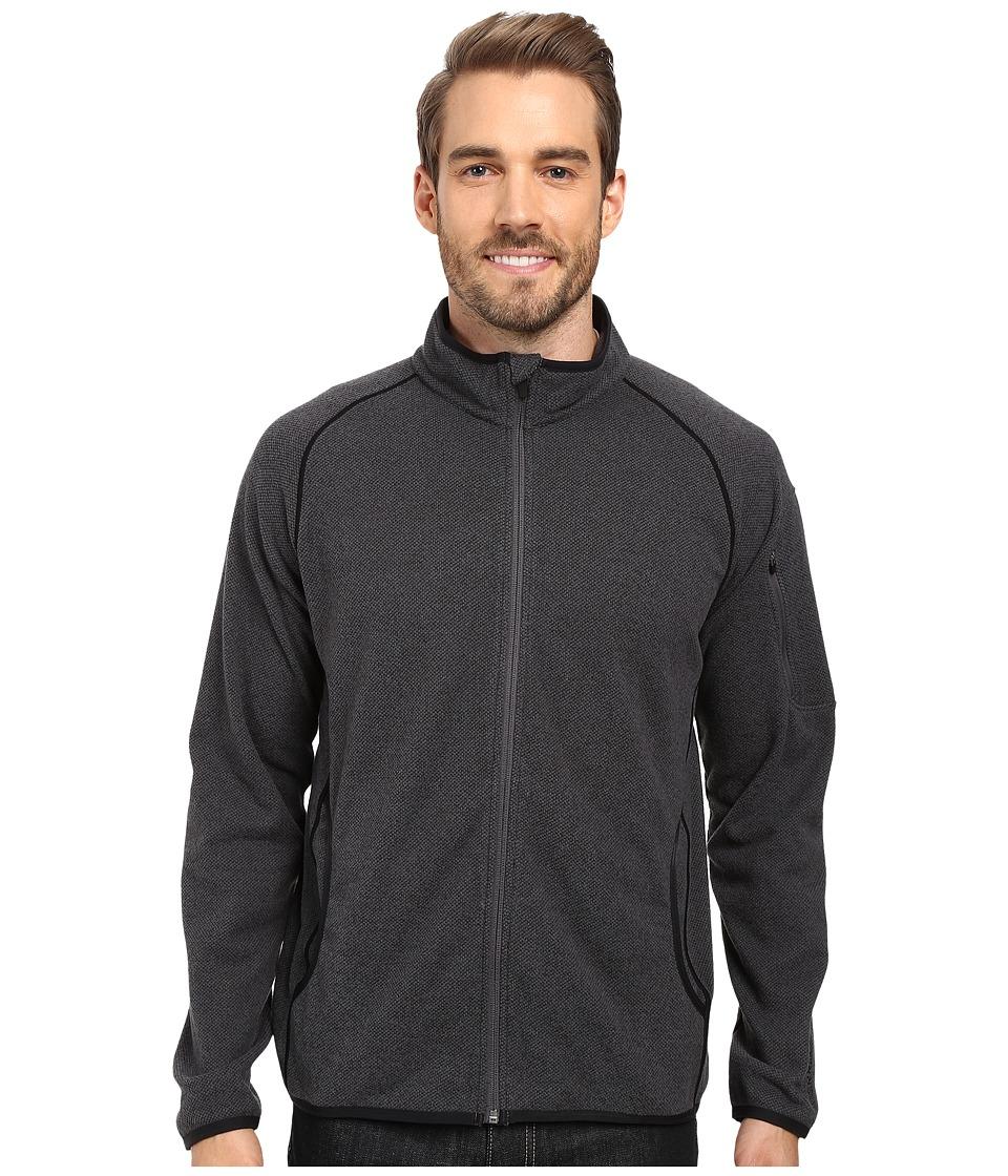 Merrell - Windthrow Full Zip Fleece 2.0 Jacket (Asphalt) Men's Coat