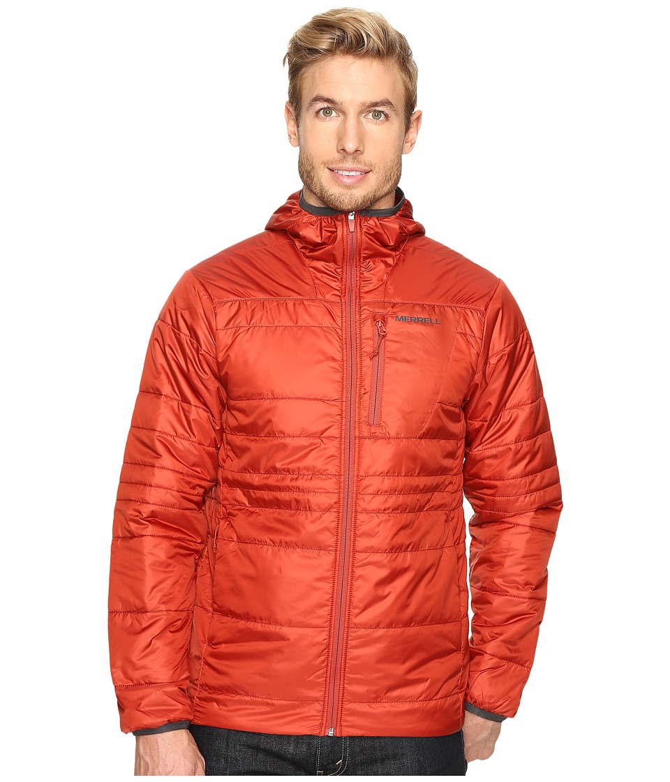 Merrell - Hexcentric Hooded Jacket 2.0 (Bossa Nova) Men's Coat