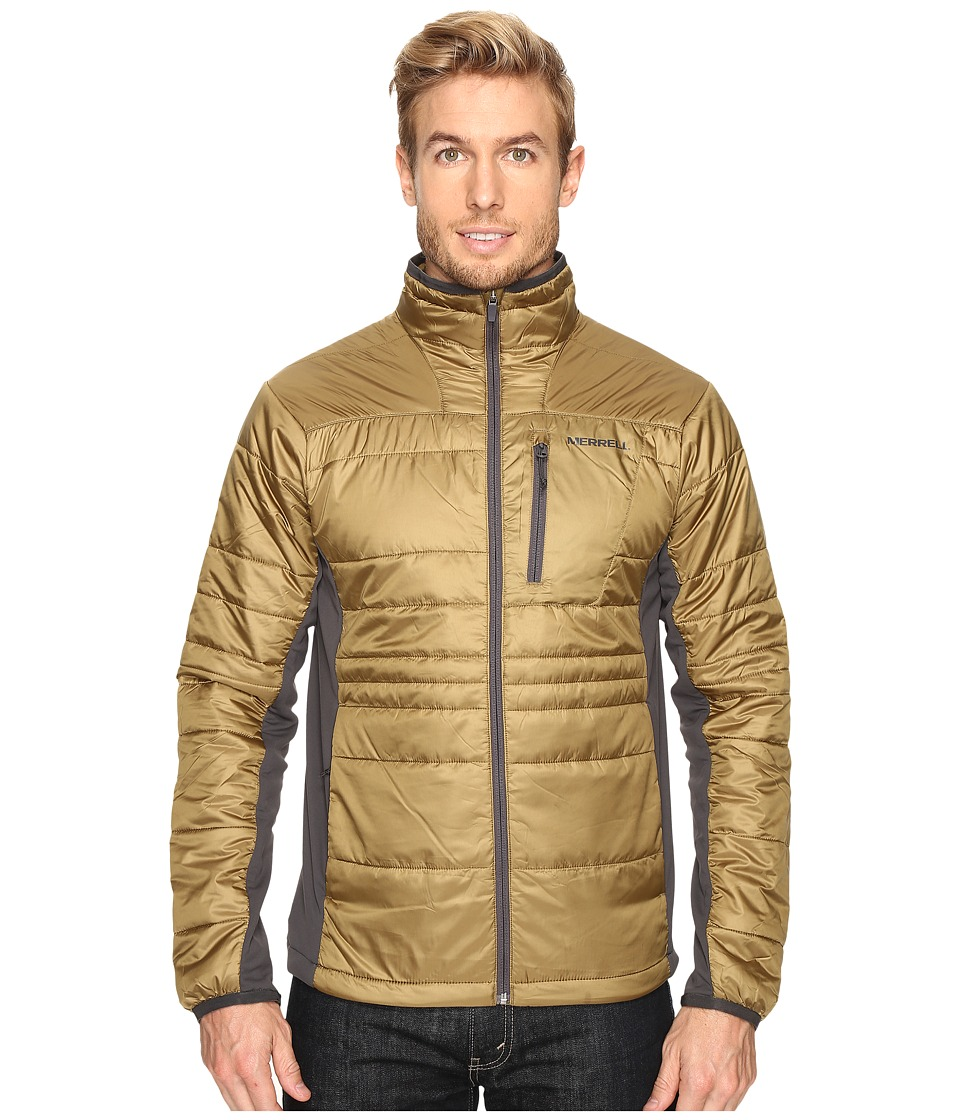 Merrell - Hexcentric Hybrid Jacket 2.0 (Gothic Olive) Men's Coat