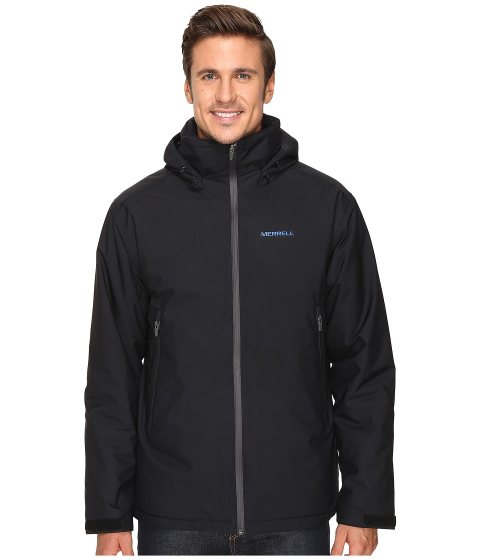 Merrell - Cascadia Insulated Jacket (Black) Men's Coat